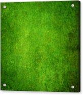 Green Grunge Background Acrylic Print