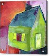 Green House- Art By Linda Woods Acrylic Print