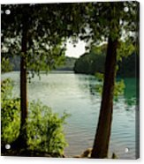 Green Lake, Ny Acrylic Print