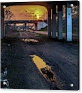 Greenway Sundown Acrylic Print