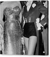 Guest Ring Mistress Marlene Dietrich Acrylic Print