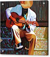 Guitar player #3 Acrylic Print