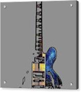 Guitar 4 Acrylic Print