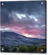 Gunnison Sunset Acrylic Print