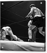 Gus Lesnevitch Vs Melio Bettina Acrylic Print