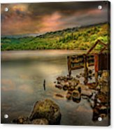 Gwynant Lake Old Boat House Acrylic Print