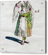 Habit Of A Lady Of Quality In Barbary Acrylic Print