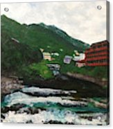 Hakone In Natural Splendor Acrylic Print
