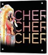 Half Breed Cher Acrylic Print