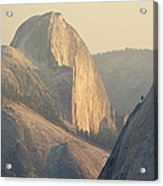 Half Dome At Sunset, Olmsted Point Acrylic Print