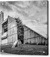 Halifax Explosion Memorial Bell Tower Bw Acrylic Print