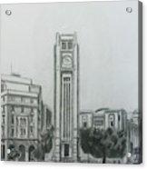 Hamedieh Clock Tower - Beirut Acrylic Print