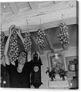 Hanging Tomatoes Acrylic Print