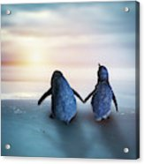 Happy Feet Acrylic Print