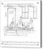 Happy Fourth Acrylic Print