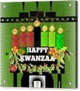 Happy Kwanzaa Acrylic Print