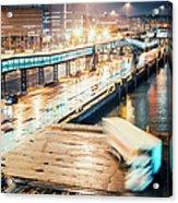 Harbor Area Acrylic Print