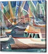 Harbor Island Acrylic Print