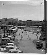 Havana Bus Park Acrylic Print