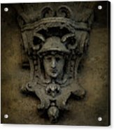 Head Of Mercury Acrylic Print