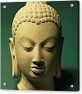 Head Of The Buddha, Sarnath Acrylic Print