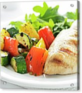 Healthy Meal Acrylic Print