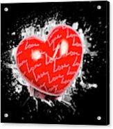 Heart Art Acrylic Print
