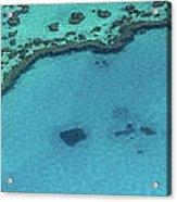 Heart Reef, Great Barrier Reef Acrylic Print