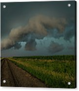 Heather's Birthday Storm Acrylic Print