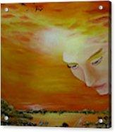 Heavenly Protection Acrylic Print