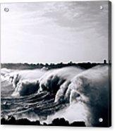 Heavy Seas Acrylic Print