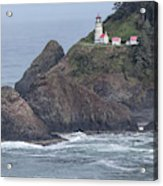 Heceta Head Light Acrylic Print