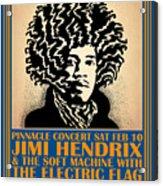 Hendrix Pinnacle Concert Acrylic Print