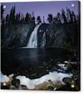 Hepokongas Waterfall Acrylic Print