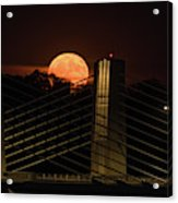 Here Comes Mister Moon 3 Acrylic Print