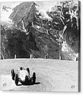 Hermann Muller In An Auto Union, German Acrylic Print