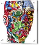 Heroic Mind Acrylic Print