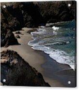 Hidden beach Acrylic Print