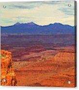 High Desert Acrylic Print