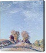Hill Path In Sunlight, 1892 Acrylic Print