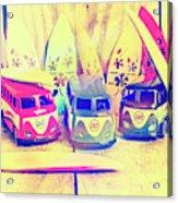 Hippie Holidays Acrylic Print