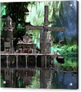Hippies Hideout  Acrylic Print