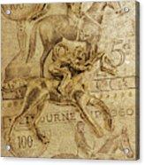 Historic Horse Racing Acrylic Print