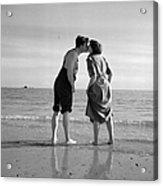 Honeymoon Kiss Acrylic Print
