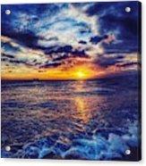 Honolulu Sunset Acrylic Print