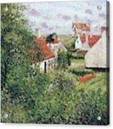 Houses At Knocke, Belgium, 1894 Acrylic Print