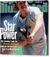 Houston Astros Randy Johnson... Sports Illustrated Cover Acrylic Print