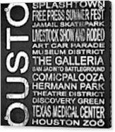 Houston Tx 6 Acrylic Print