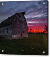 How Country Feels  Acrylic Print