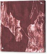 How The Camel Got His Hump Oil Otd Painting 28 Acrylic Print